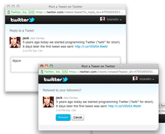 Post image for How to Pre-Populate Twitter Status Updates the NEW Way via Links & Web Intents