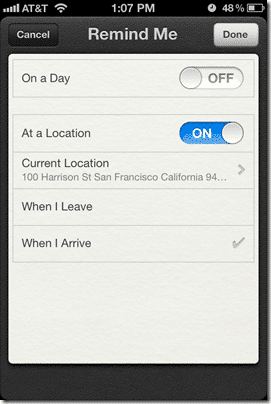 Post image for How To Configure Location-Based Reminders on the iPhone with iOS5