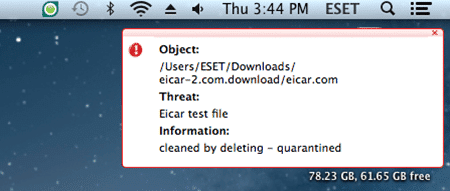 Post image for Silent but Effective – ESET Cybersecurity for Macintosh