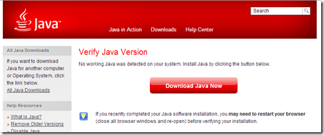 no-java-installed