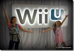 HTD Girls at Wii U Launch Event