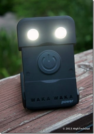 WakaWaka Power - Lights on