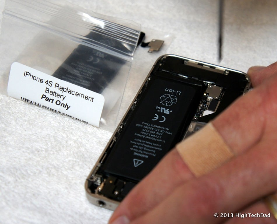 iphone 4s battery replacement how to easily remove install amp replace an apple iphone 4s 14420