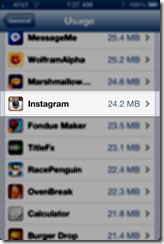 Instagram after deleting & reinstalling
