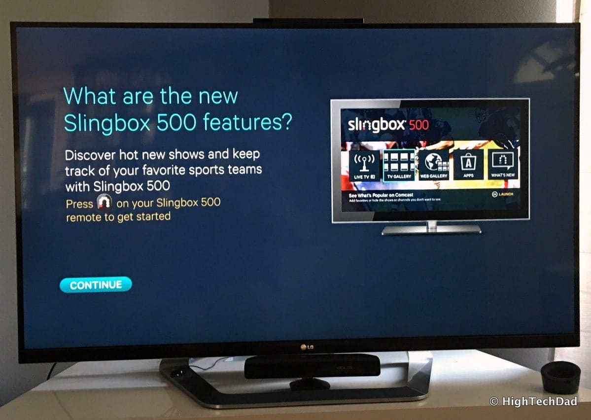 how to connect slingbox 500