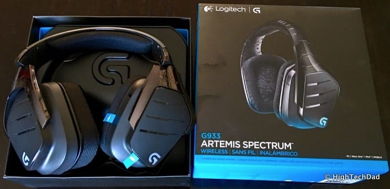 HighTechDad #LogiSmiles Father's Day Giveaway - G933 Artemis Spectrum headset