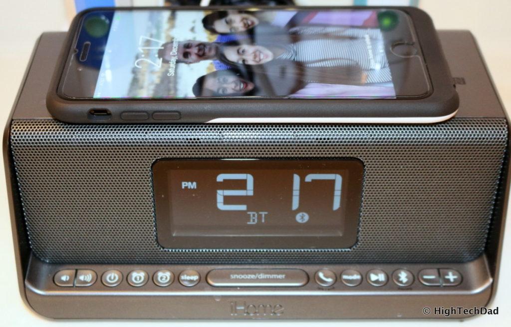 HighTechDad Qi Wireless Charging - iHome iBN350