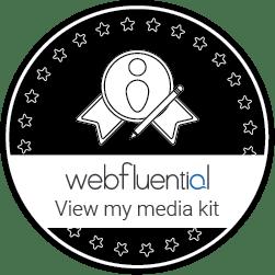 Webfluential Badge