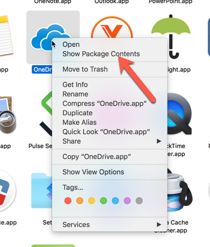 how to add onedrive to mac