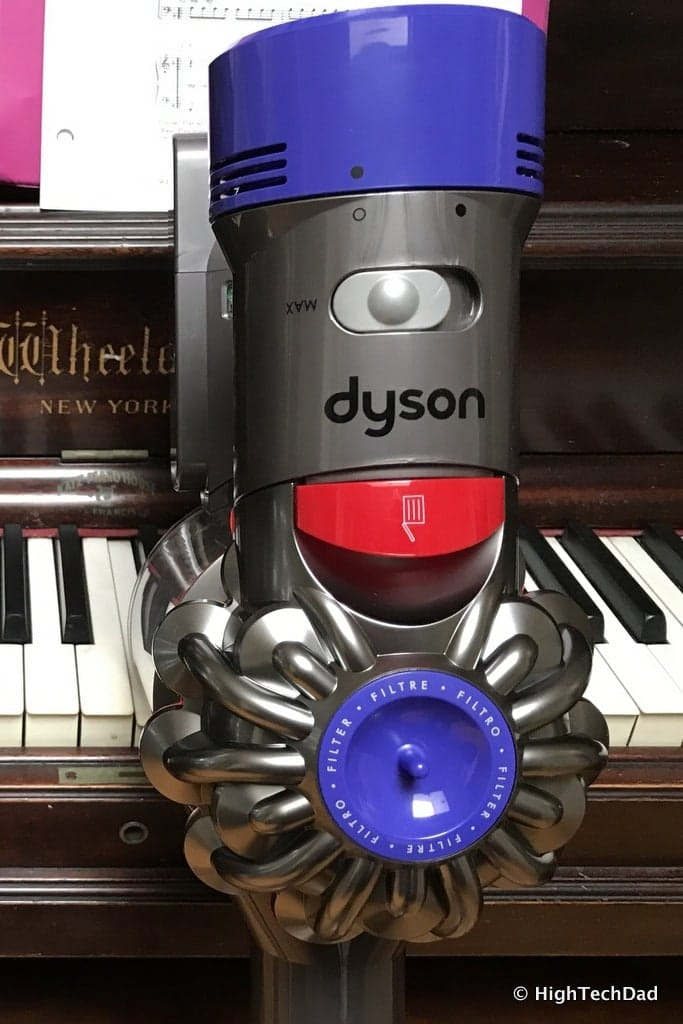 The Dyson V8 Absolute Vacuum Really Quot Sucks Quot Dirt Off Of