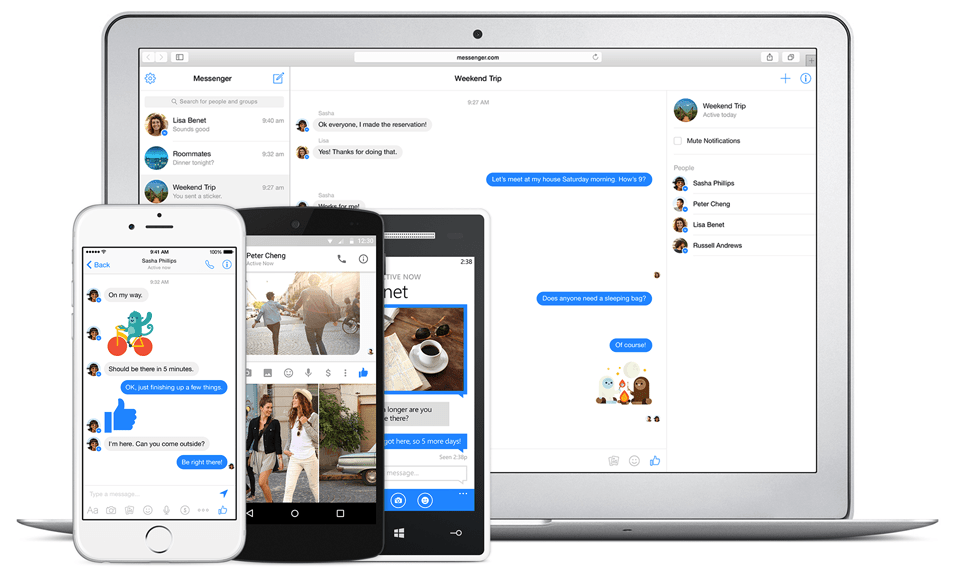 Messenger on all devices