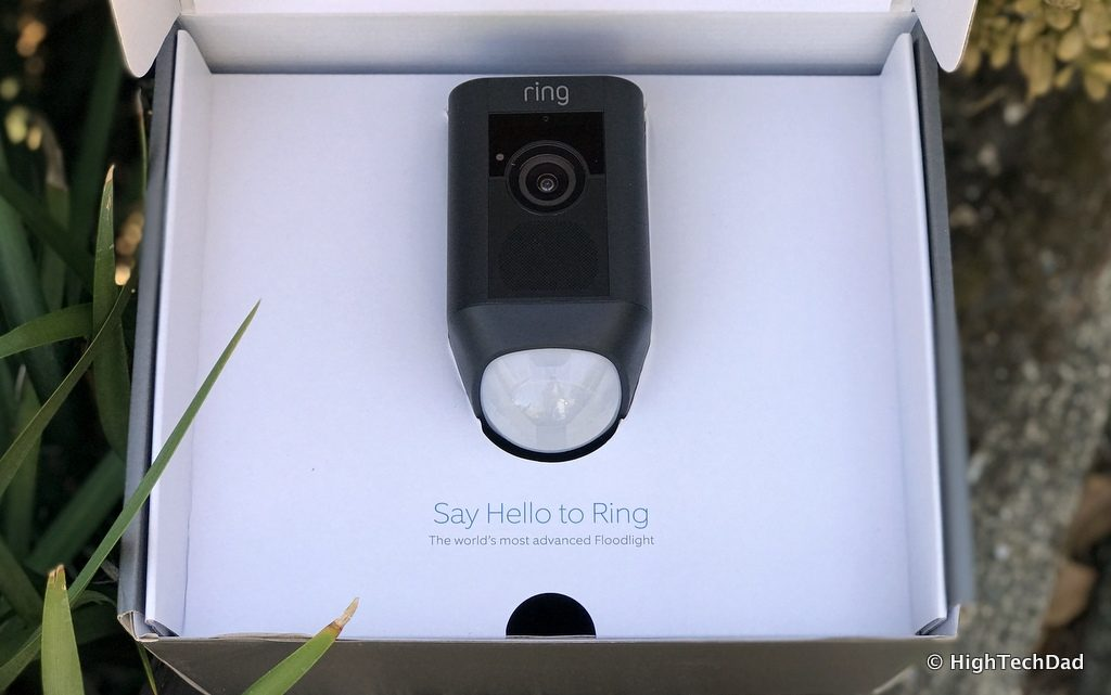 Ring Floodlight Cam - in the box