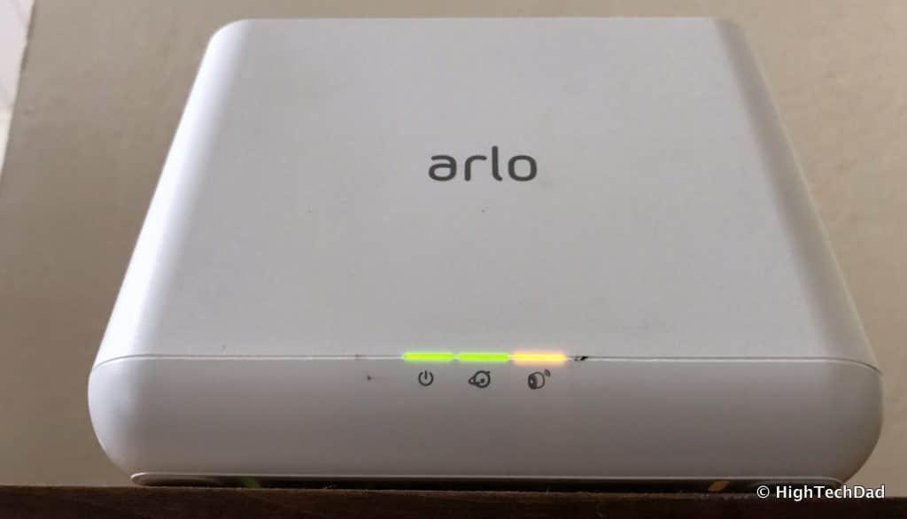 HTD NETGEAR Arlo Pro 2 - base station lights