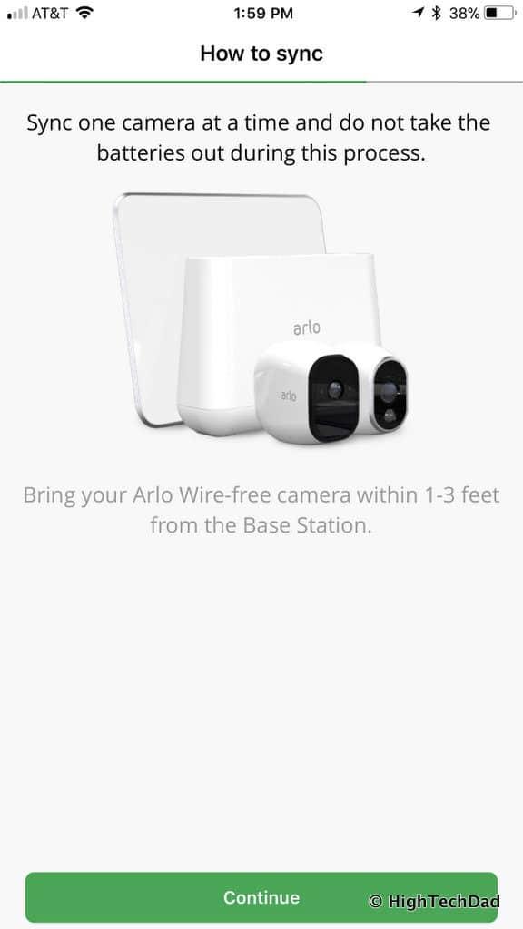HTD NETGEAR Arlo Pro 2 - add camera