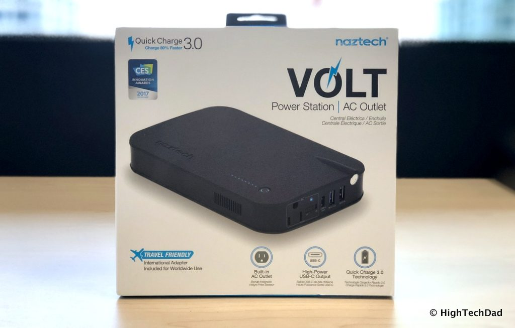 Naztech VOLT Power Station review - boxed