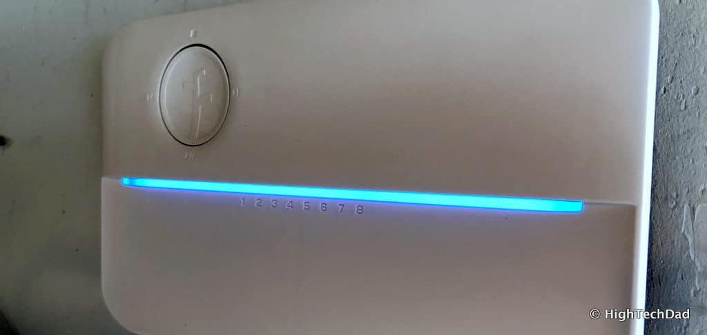HTD Rachio Gen3 Review - light bar