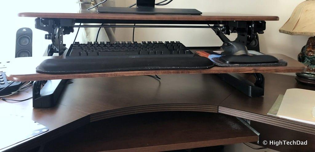 FlexiSpot ClassicRiser Standing Desk Converter review - a desktop converter
