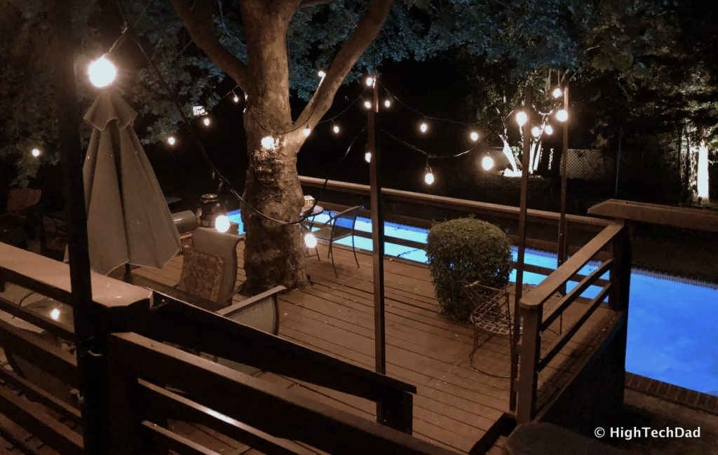 HTD deck lighting post DIY 21 - HighTechDad™