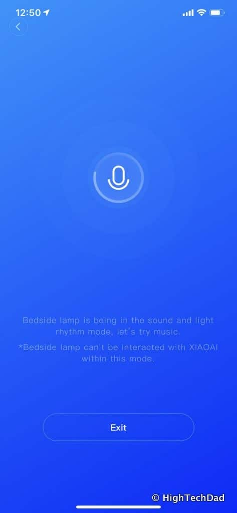 HighTechDad Xiaomi PHILIPS ZhiRui Smart Bedside Lamp - mic enabled