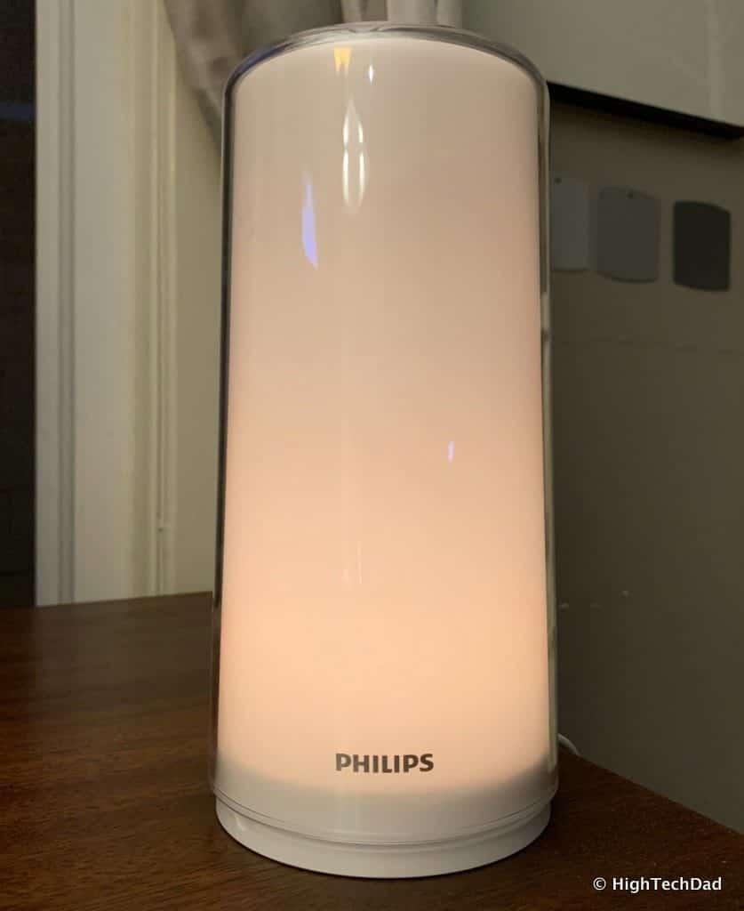 HighTechDad Xiaomi PHILIPS ZhiRui Smart Bedside Lamp - warm glow
