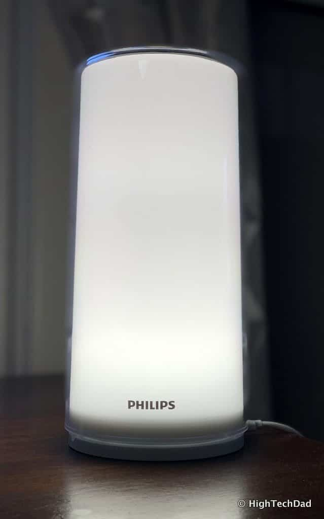 HighTechDad Xiaomi PHILIPS ZhiRui Smart Bedside Lamp - bright white