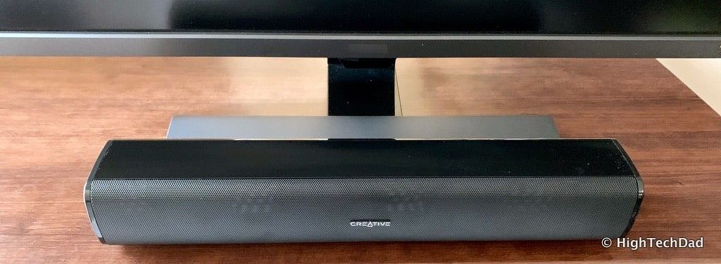 HighTechDad Creative Stage Air review - on desk