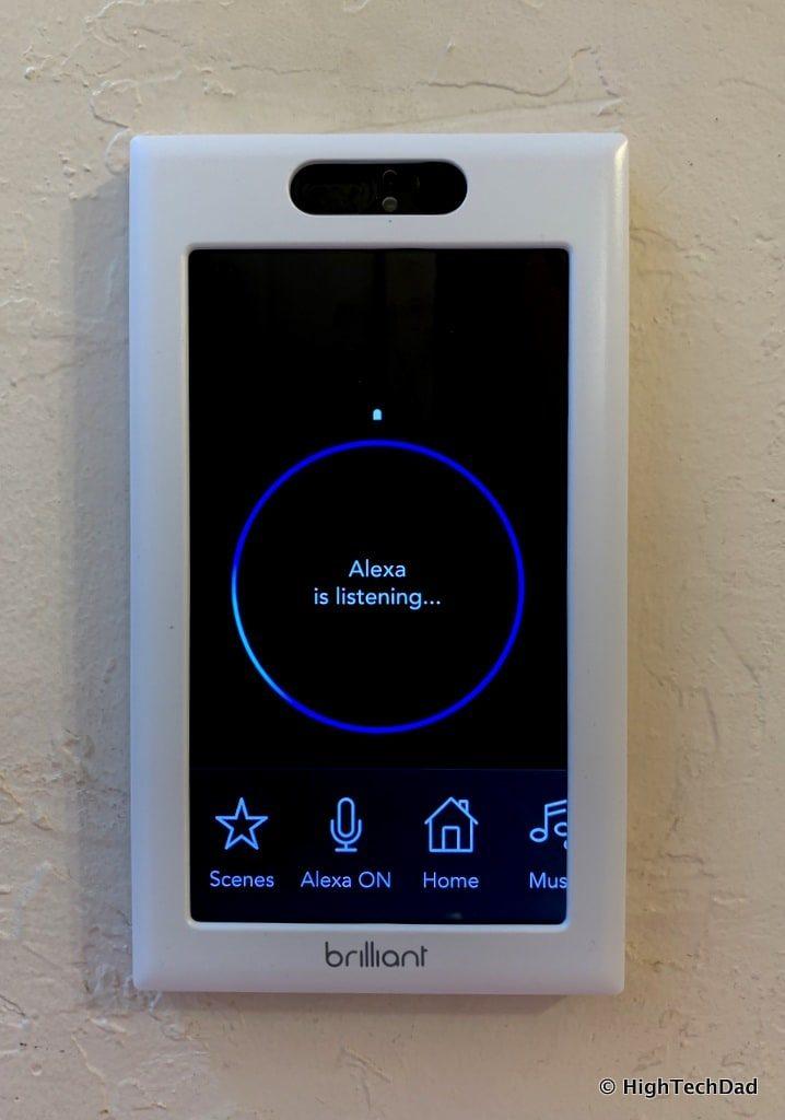 HighTechDad Brilliant Smart Switch Review - Amazon Alexa