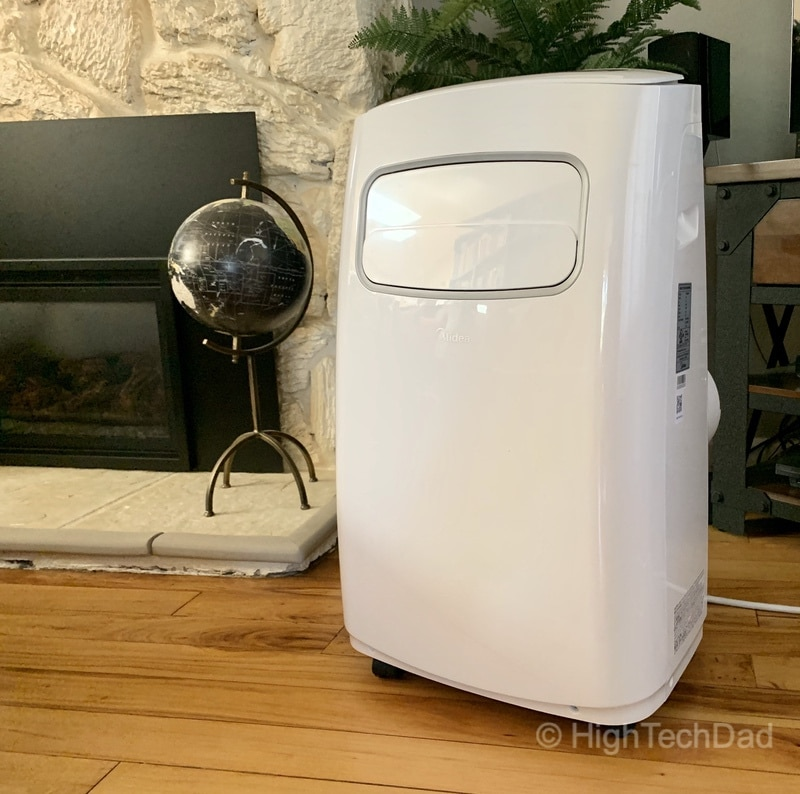 HighTechDad MIDEA portable air conditioner