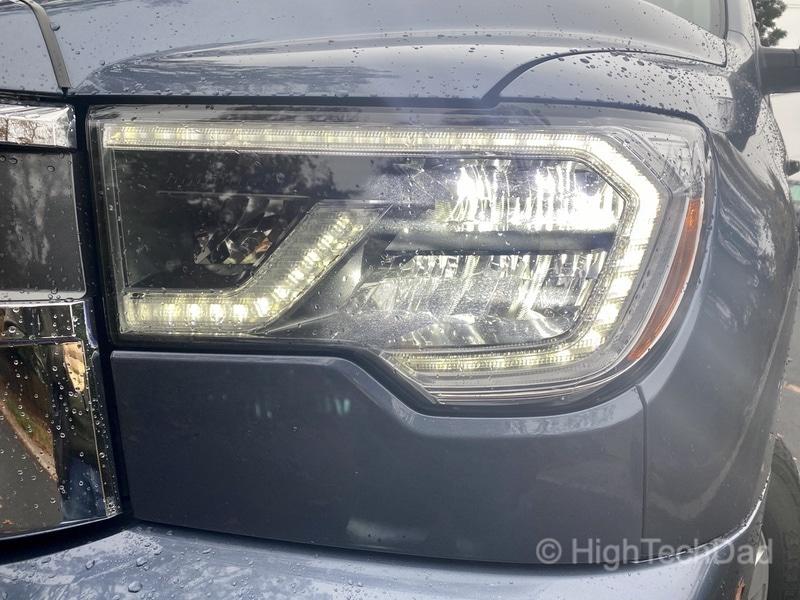 HighTechDad, Toyota Season of Giving & the 2019 Toyota Sequoia - headlights