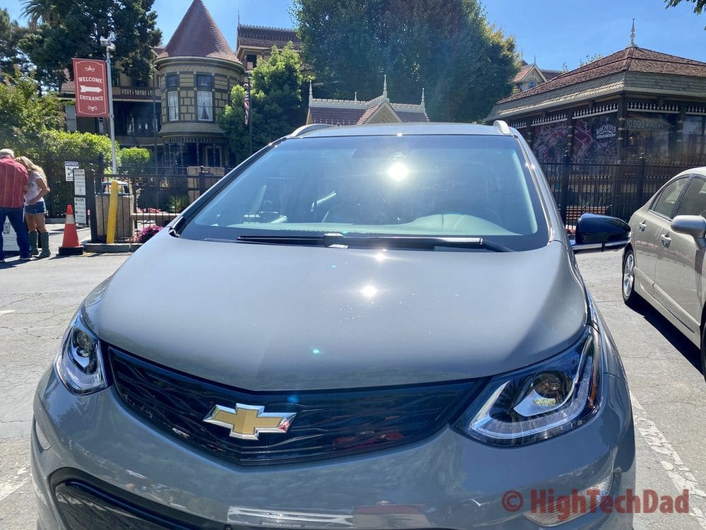 2020 Chevy Bolt at the Winchester Mystery House