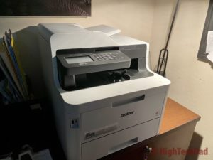 HighTechDad review - Brother MFC-L3770CDW printer